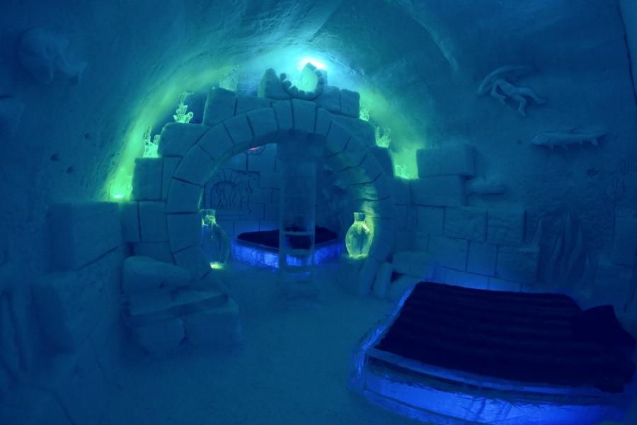L'hôtel de glace