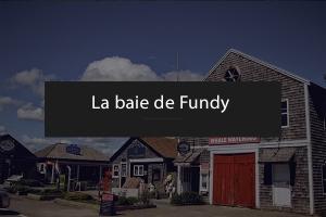La baie de Fundy