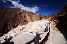 Salinas de Maras - Perou